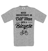 Never underestimate an old man - bicycle