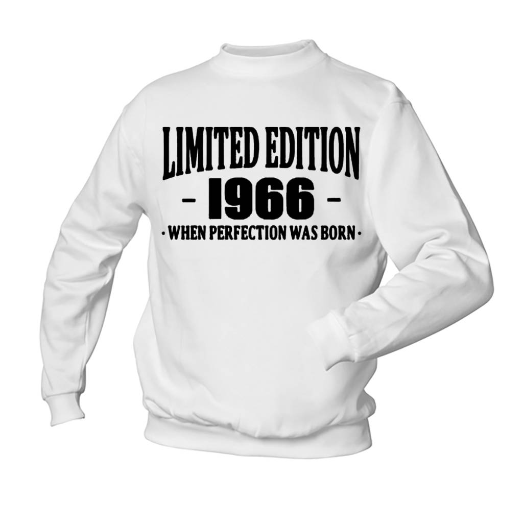 Limited edition when perfection was born