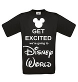 Get exited we're going to Disney World