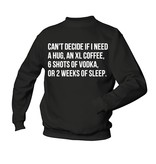 Can't decide if I need - or 2 weeks of sleep.