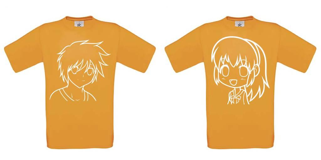 Anime Boy / Girl Set