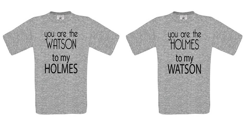 You are the Holmes to my Watson Set
