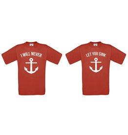 I will never - let you sink Set
