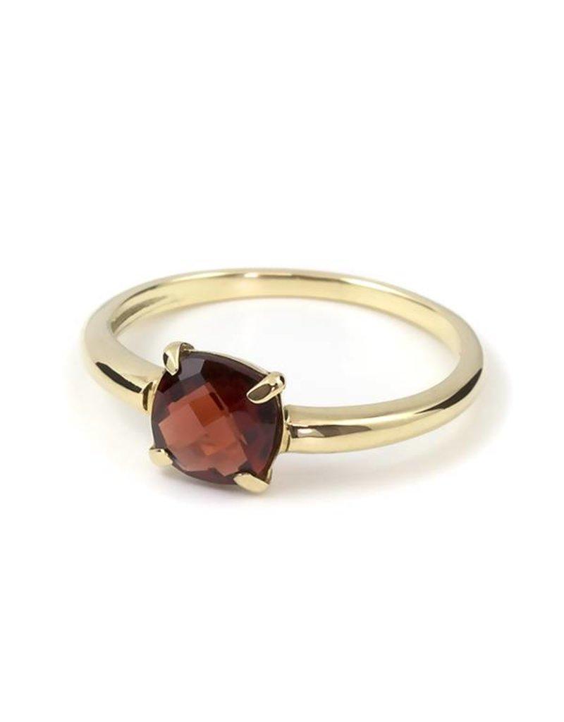 Navarro Ring - Goud - Granaat