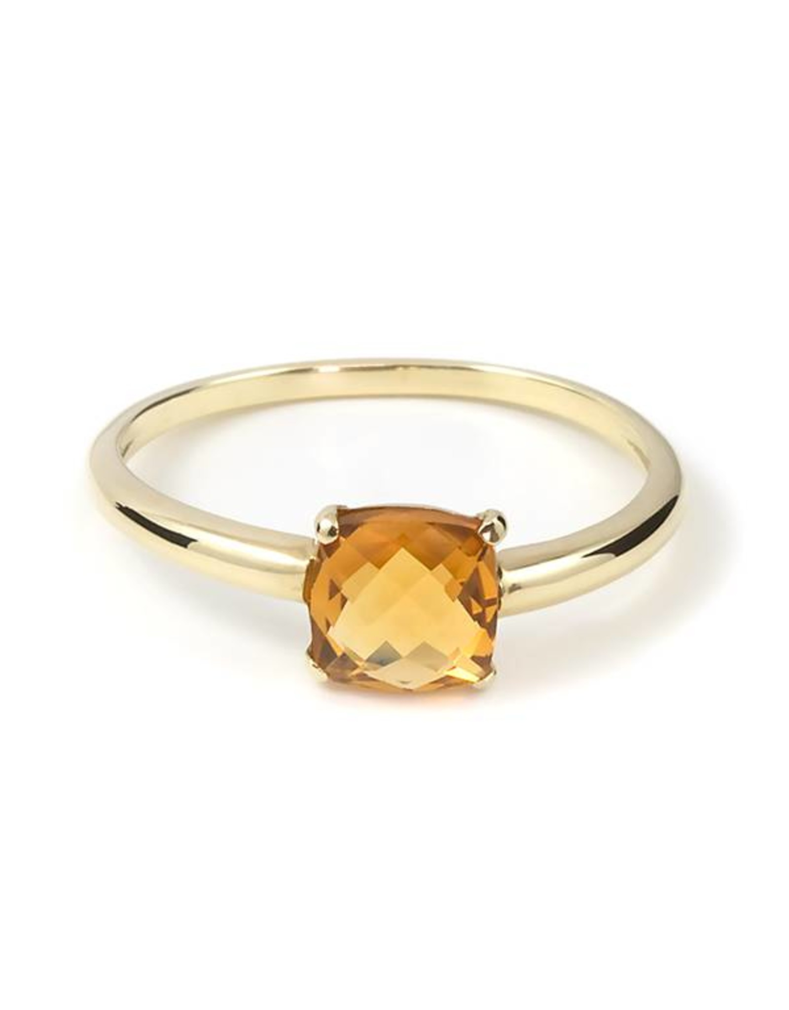 Navarro Ring - Goud + Citrien