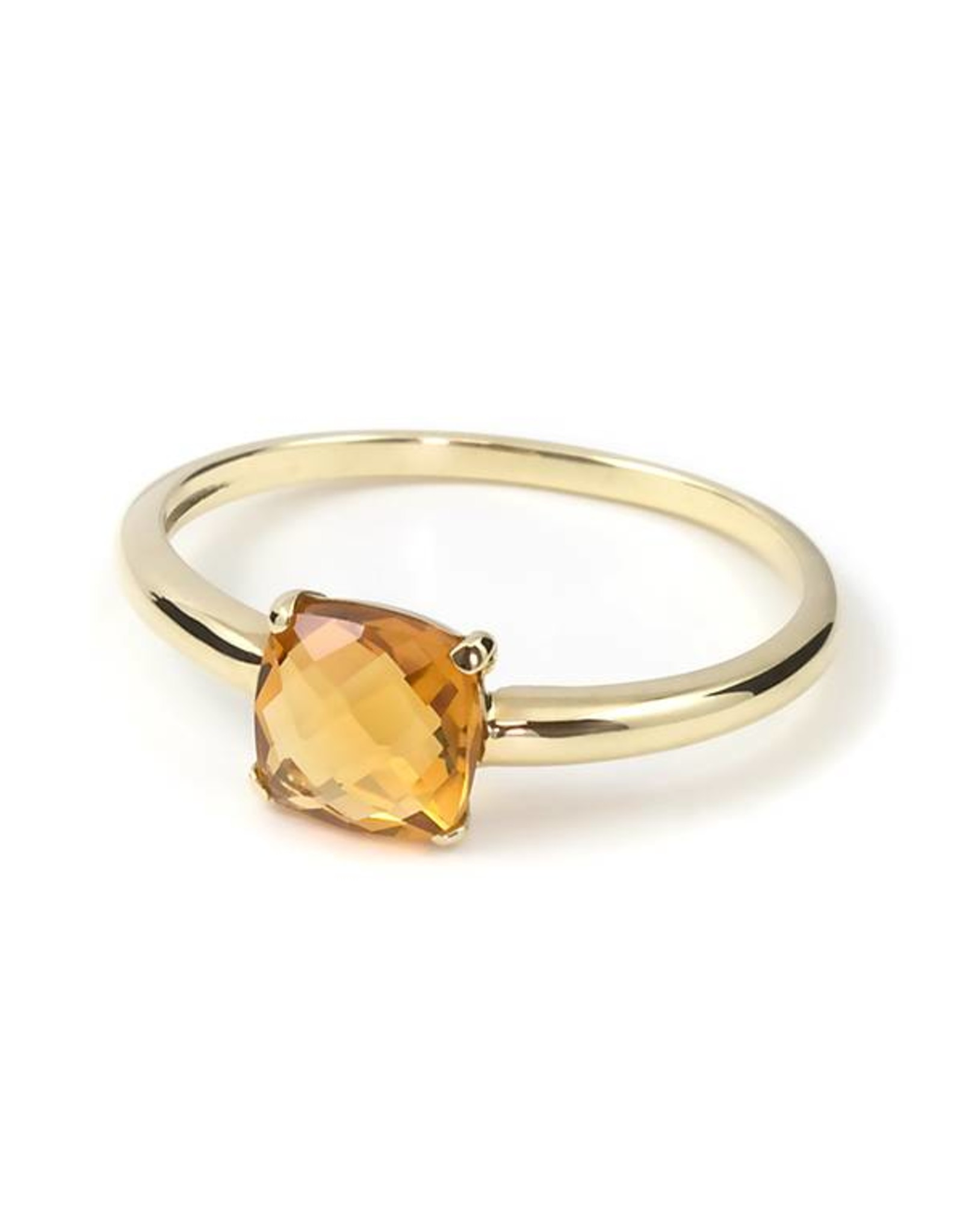 Navarro Ring - Gold + Citrine