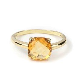 Navarro Ring - Goud + Citrien