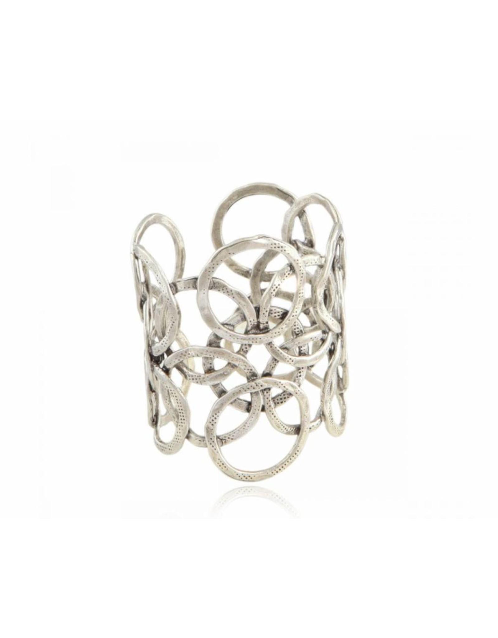 GAS Bijoux Armband Olympie Zilver