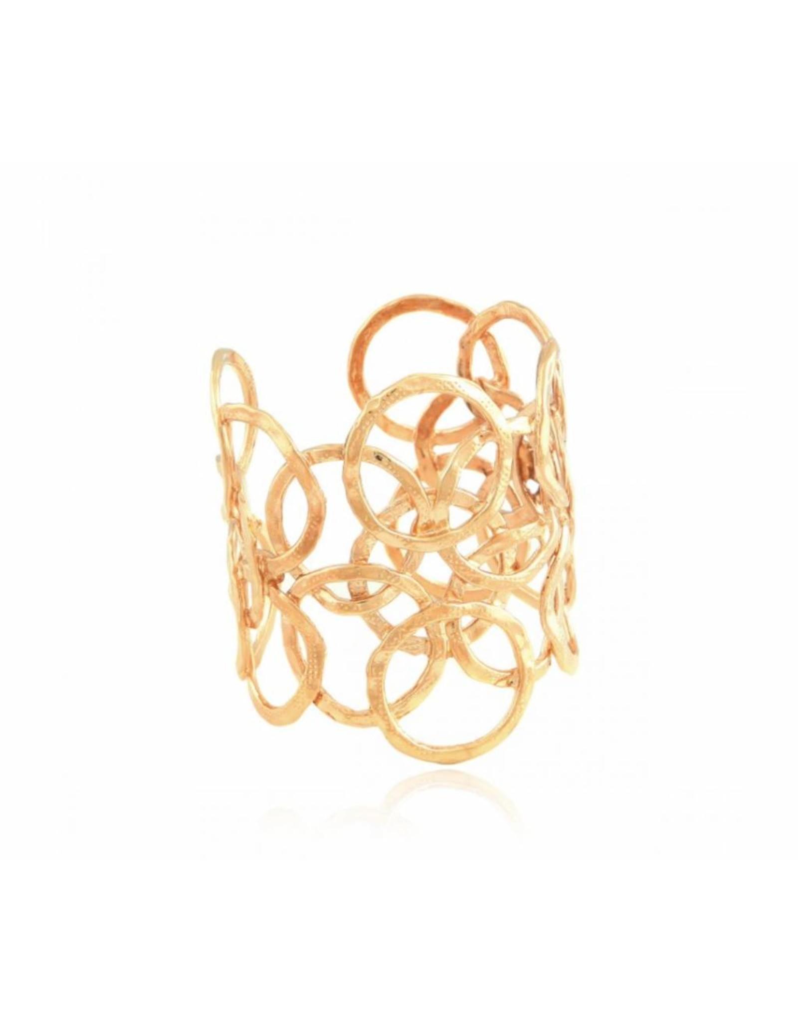 GAS Bijoux Armband Olympie Goud