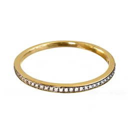 Bo Gold Ring - Gold - Diamonds