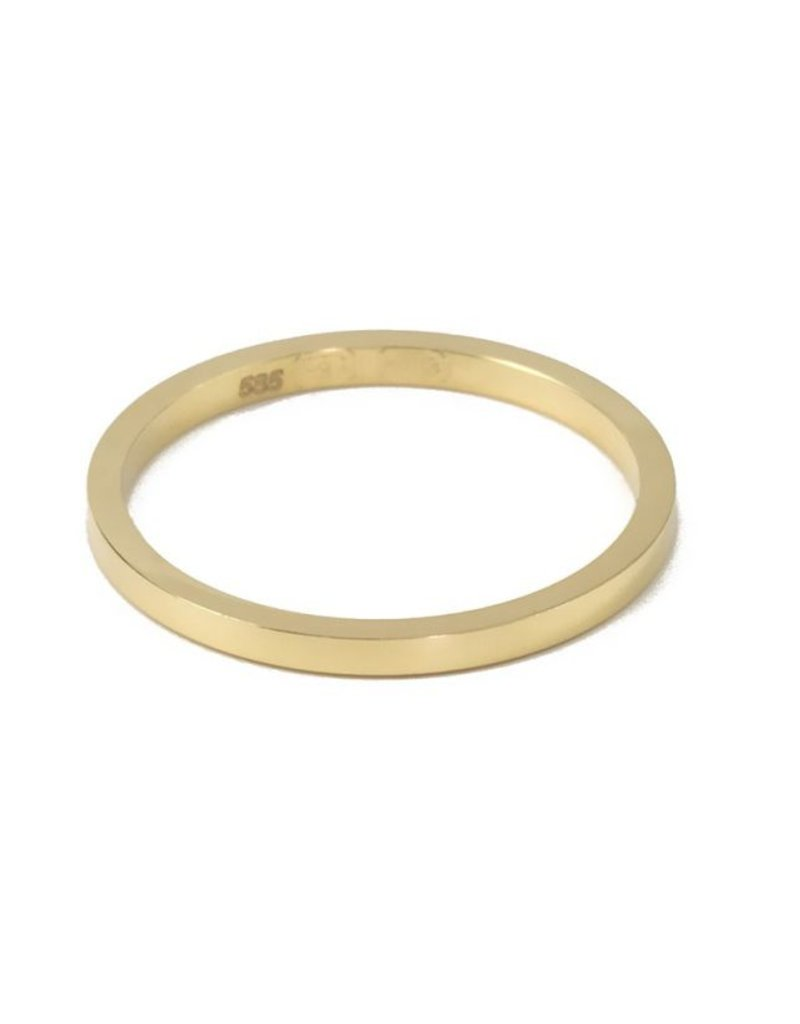 Bo Gold Ring - Goud