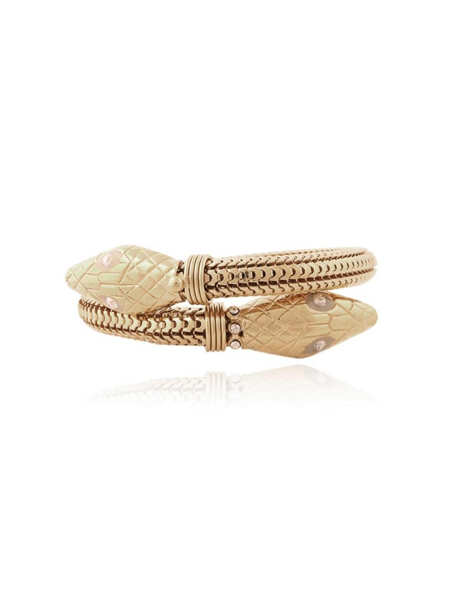 GAS Bijoux Armband Slang Goud