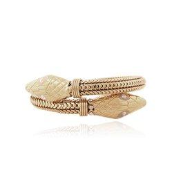 GAS Bijoux Bracelet Cobra Gold