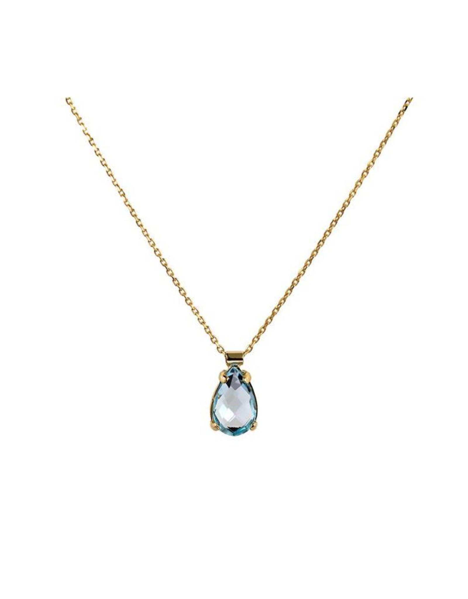 Navarro Necklace - Gold - Gemstones