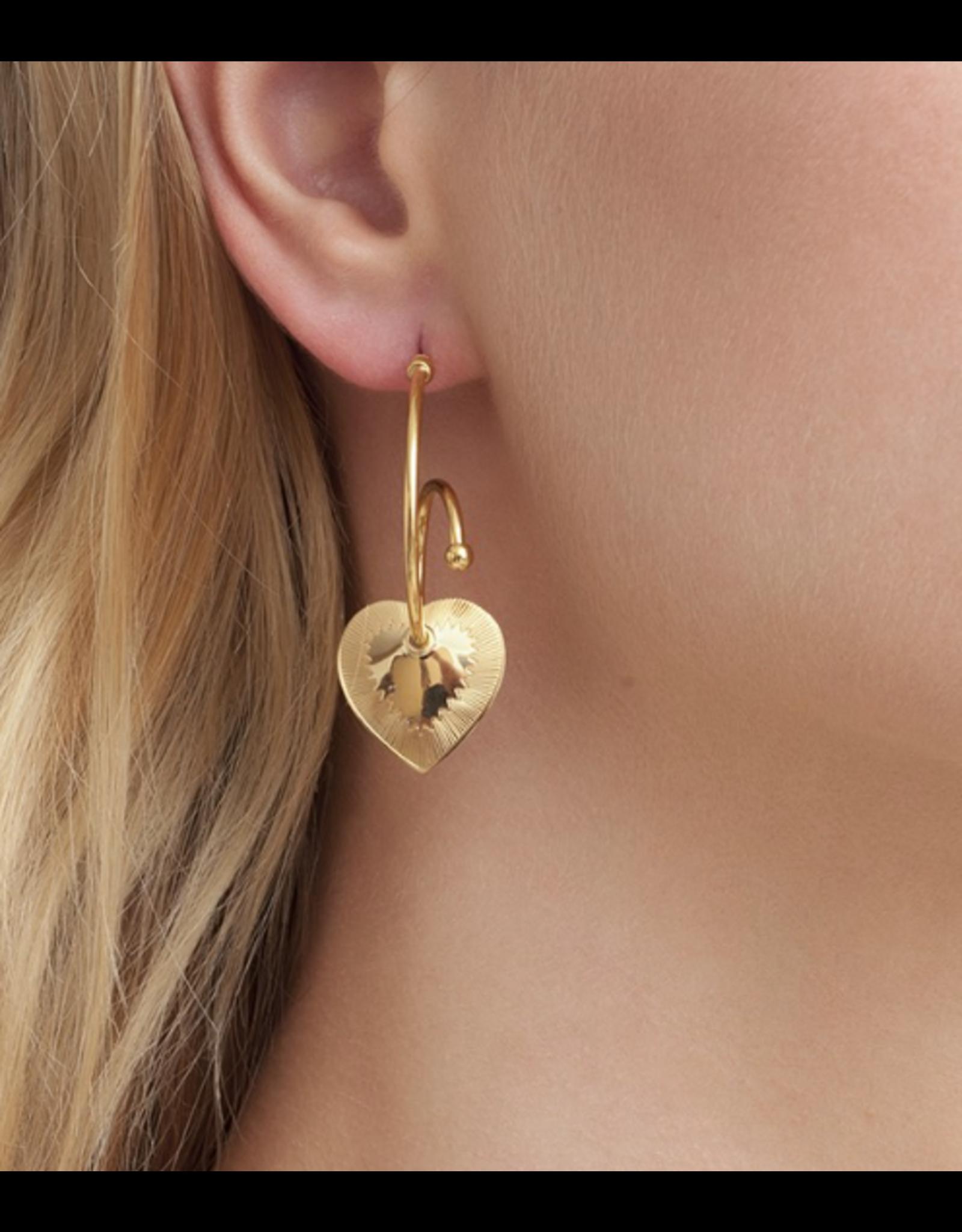 GAS Bijoux Earrings - Celine Coeur