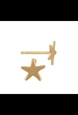 Bo Gold Oorbel - Goud