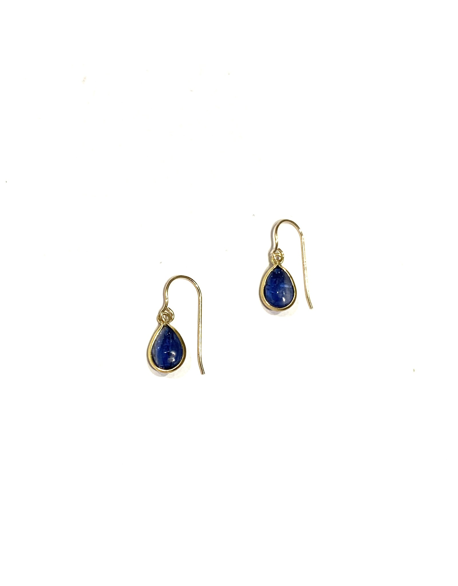 Bo Gold Earrings - Gold - Kyanite