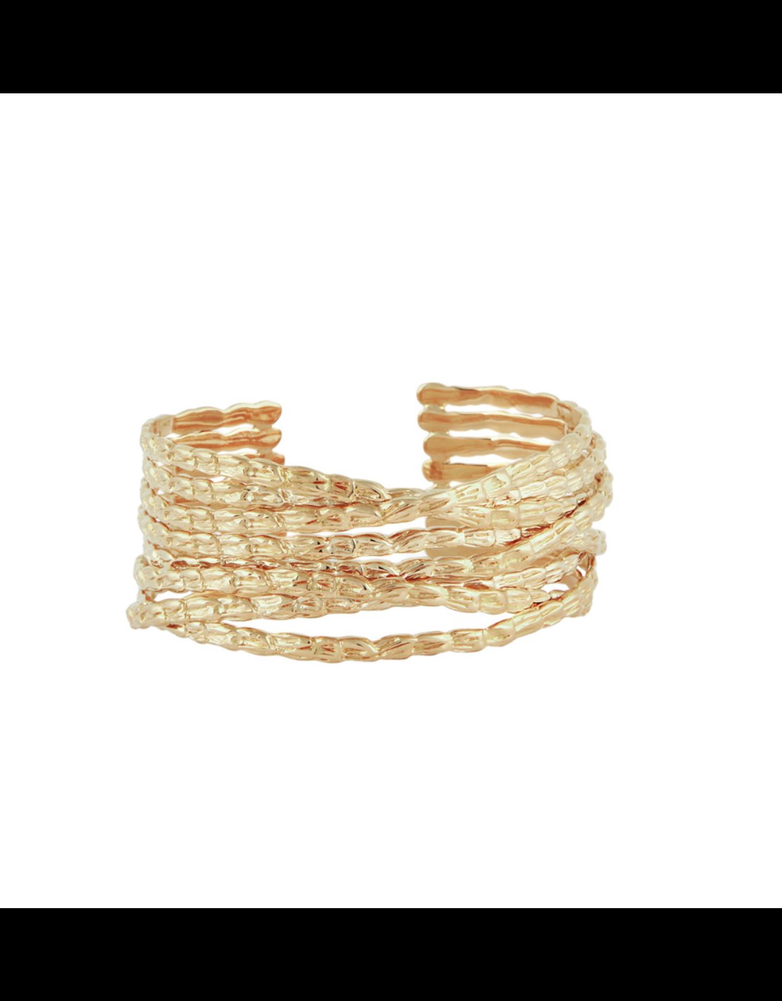 GAS Bijoux Armband Liane Goud