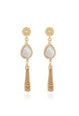 GAS Bijoux Earrings Naomi White Mother of Pearl