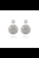 GAS Bijoux Earrings Diva Silver