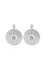GAS Bijoux Earrings Flocon Silver