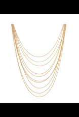 GAS Bijoux Necklace Romeo Gold