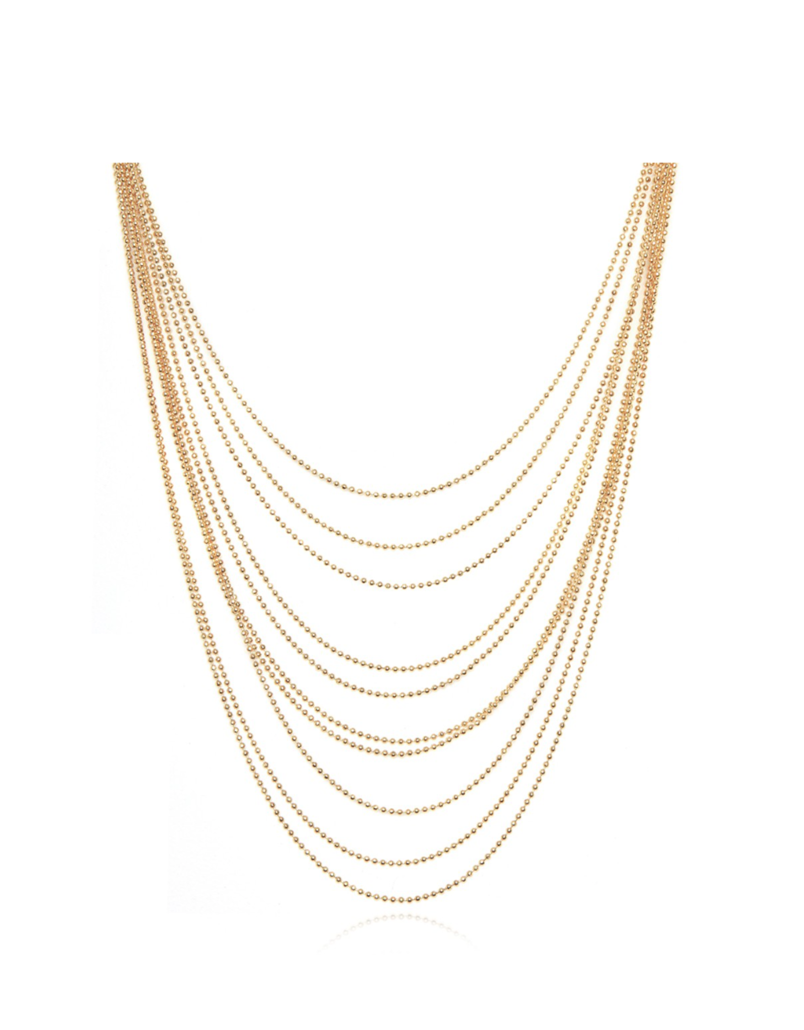 GAS Bijoux Necklace Romeo Gold PLated