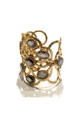 GAS Bijoux Bracelet Olympie Grey Mother of Pearl