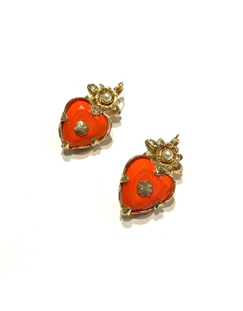 GAS Bijoux Earrings Heart