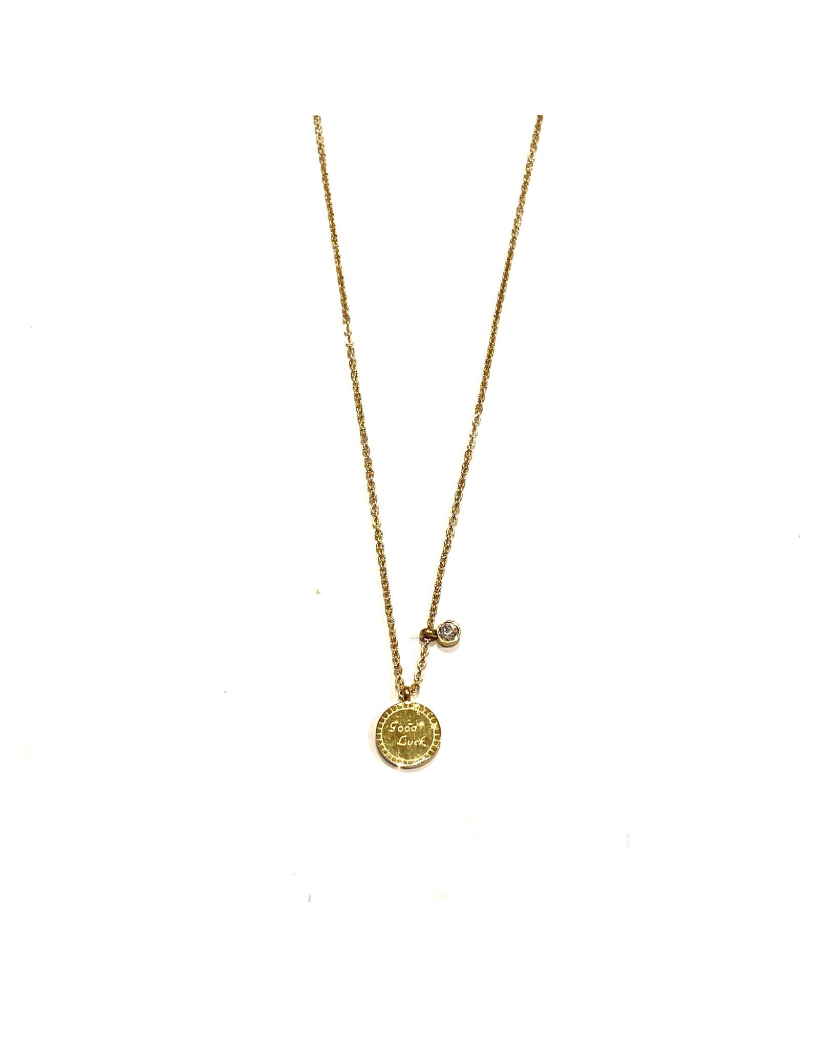 Zag Bijoux Paris Necklace Good Luck