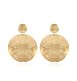 GAS Bijoux Earrings Diva Gold