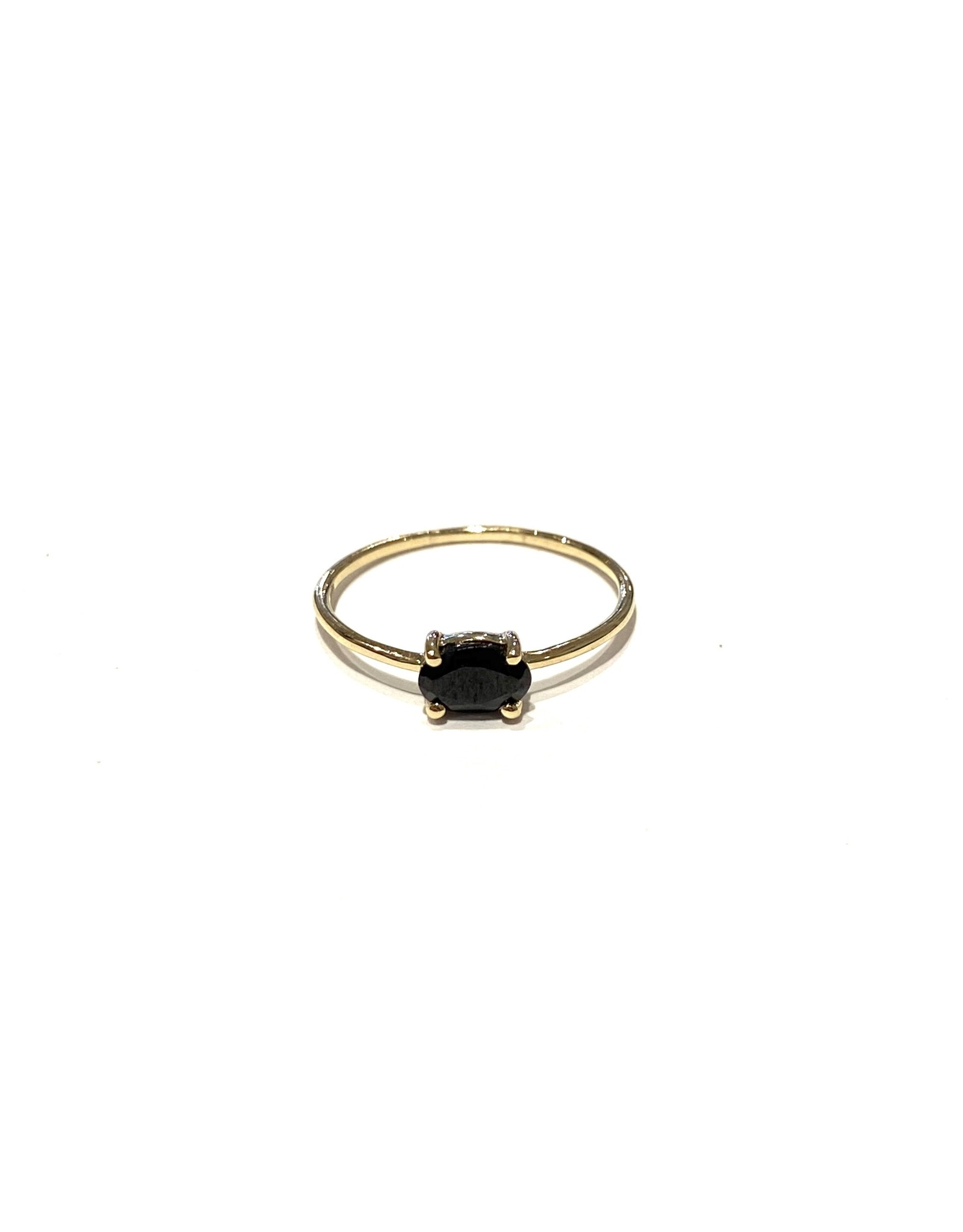Bo Gold Ring - Goud - Spinel
