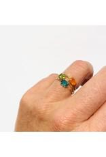 Bo Gold Ring - Gold - Peridot