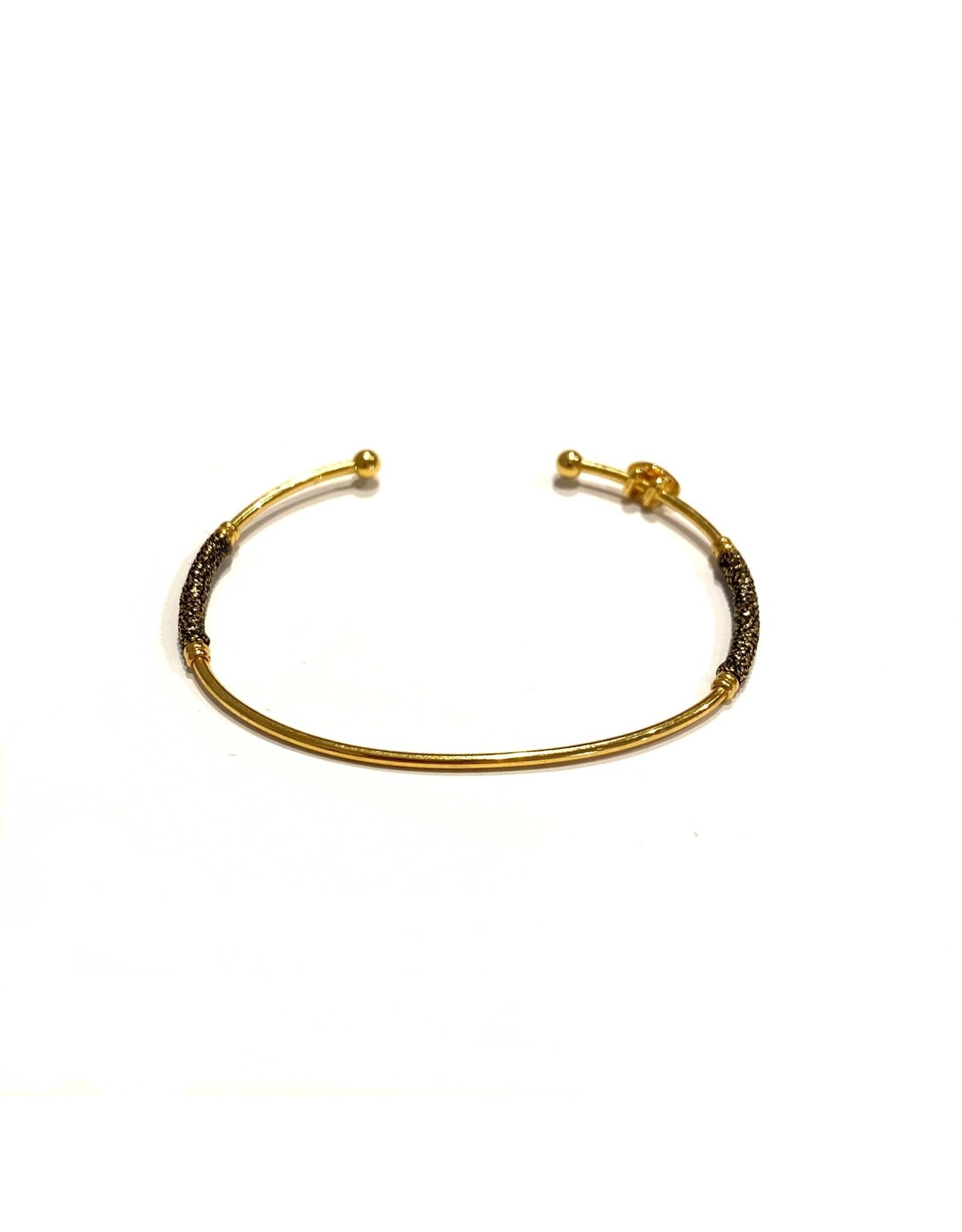 GAS Bijoux Bracelet Gold Plated