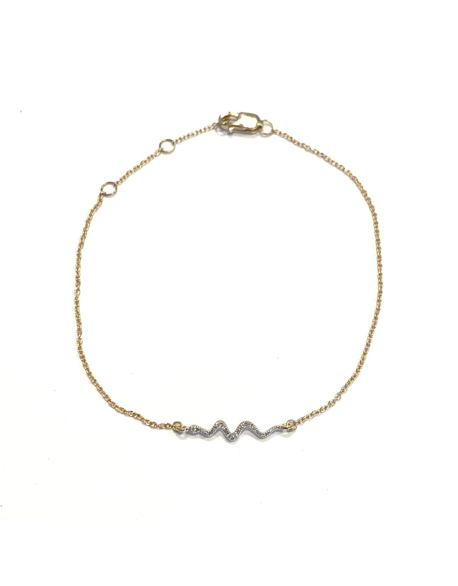 Bo Gold Armband - Goud - Diamant