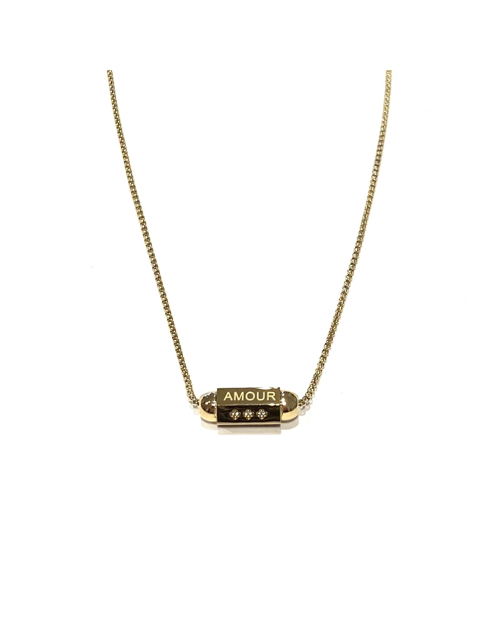 Zag Bijoux Paris Necklace Love