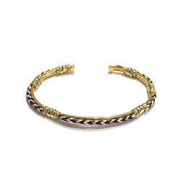 GAS Bijoux Armband Verguld