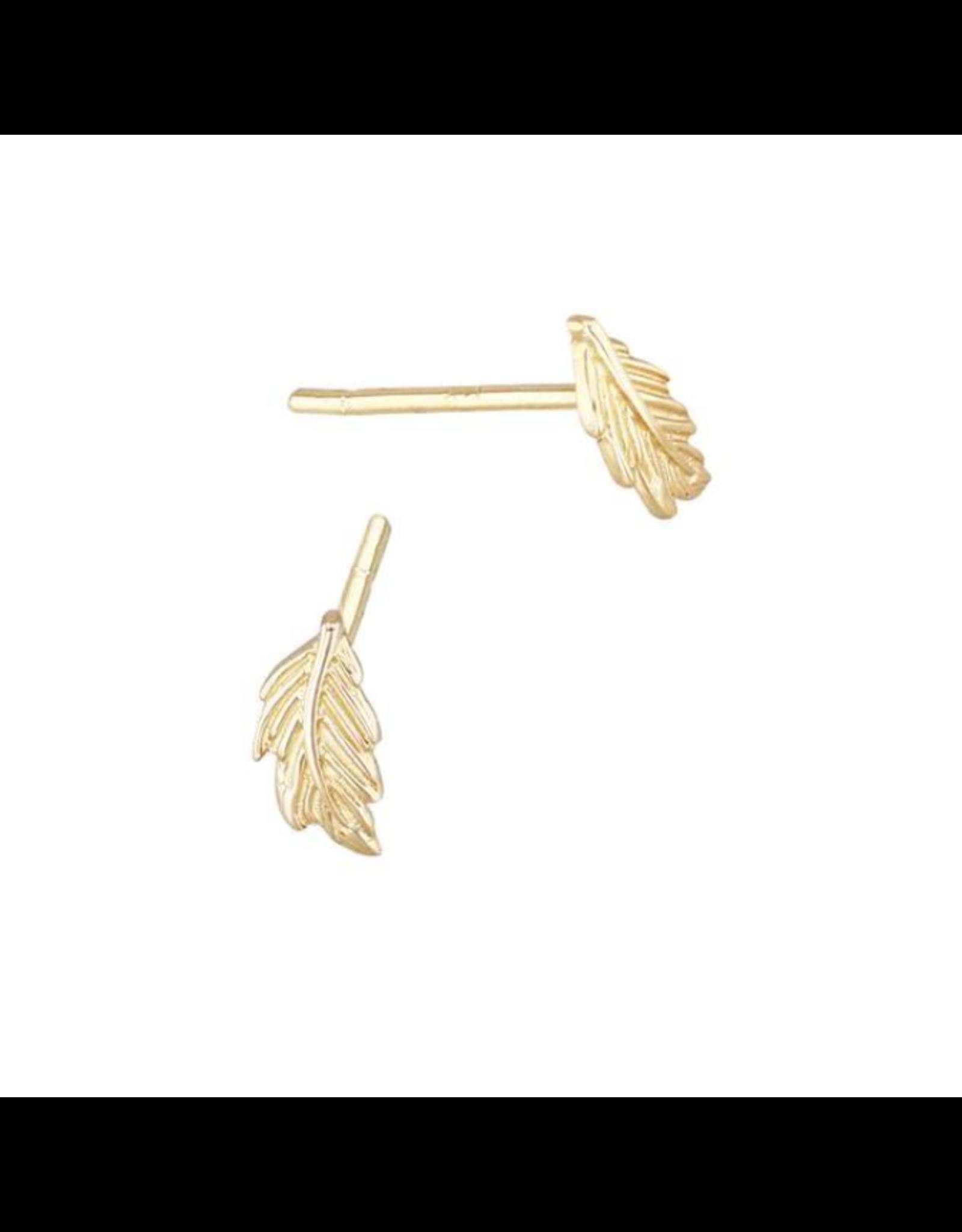 Bo Gold Earring - Gold