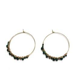 Zag Bijoux Paris Hoop Earrings