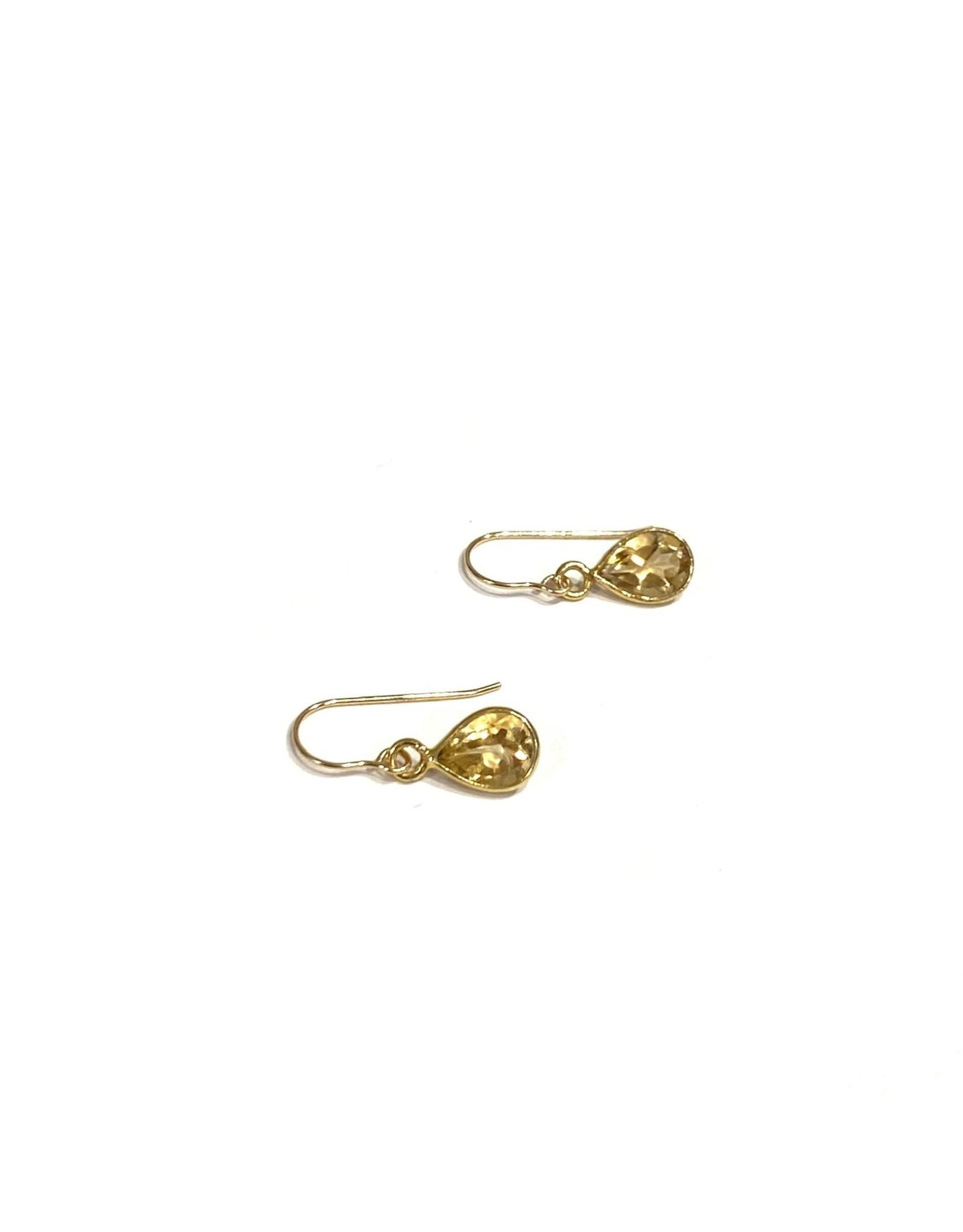 Bo Gold Oorbellen - Goud - Edelstenen