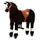 Animal Riding Zwart rijpaard Small