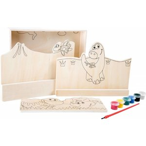 Small Foot Dino-set van hout