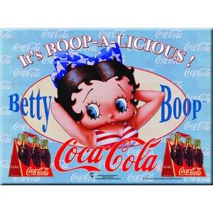 Cartexpo Metalen Coca Cola poster 988 30 x 40 cm