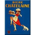 Cartexpo Metalen poster Biere Chatelaine 30 x 40 cm