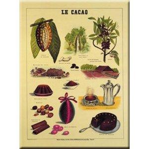 Cartexpo Metalen poster Le Cacao 30 x 40 cm