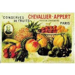 Cartexpo Affiche conserves de fruits 50x70