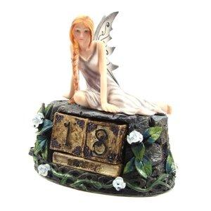 Puckator Donkere Fantasy Fee Kalender Roze