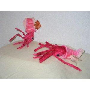 Anna Plush Roze inktvis van WWF