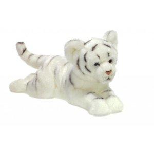 Anna Plush Witte floppy tijgerwelp