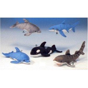 Anna Plush Dolfijnen, haaien en orka
